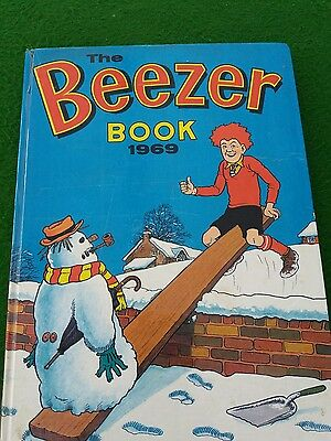 The Beezer Book Annual 1967 UnClipped  Good condition