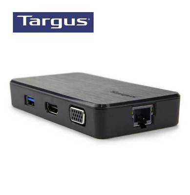 Targus USB 3.0 Dual Video Travel Docking Station - BNIB Aussie Stock + Free Gift