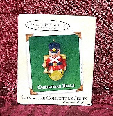 Hallmark 2003 Miniature Series Ornament #9~Christmas Bells
