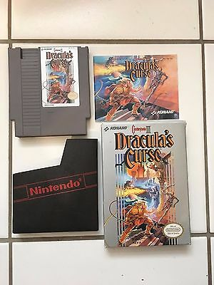 Castlevania 3: Dracula's Curse - In box with manual - NES - Konami