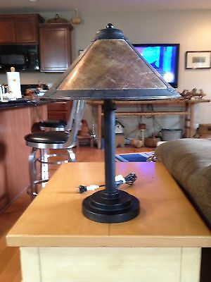 A Beautiful Arts And Crafts Style Table Lamp Stickly Dirk Van Erp