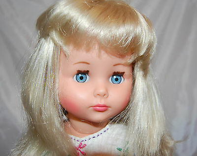 "Schildkrot Co.  Made in Germany 18"" Blonde  Doll  Gorgeous hair"