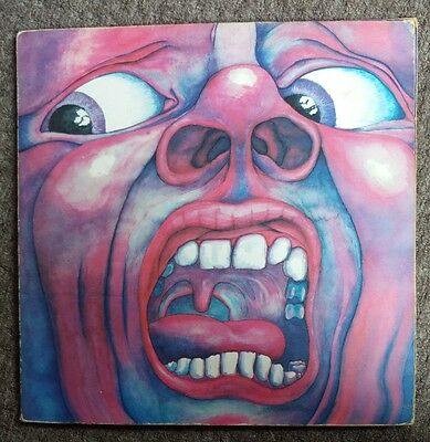 KING CRIMSON: In The Court Of The Crimson King (1970 LP) ILPS9111