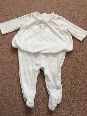 Mamas & Papas WELCOME TO THE WORLD Unisex Babygrow 0-3 Months