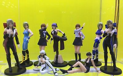 Lot of 9 Dead or Alive Sexy Girls Bandai Gashapon Figure