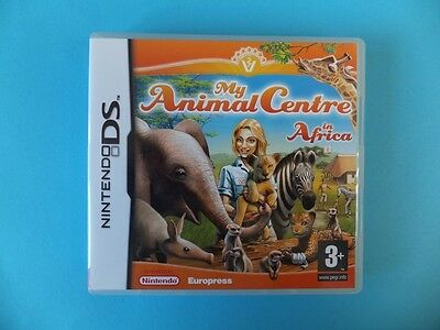MY ANIMAL CENTRE AFRICA BOX ONLY NO GAME Nintendo DS DSL DSi XL 3DS 2DS PAL