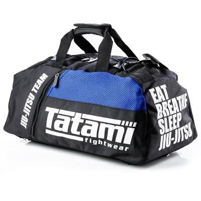 Tatami Gear Bag BJJ Holdall Backpack MMA Jiu Jitsu Black / Blue