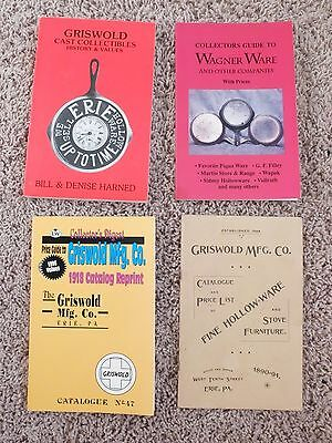 Griswold / Wagner / Sidney Cast Iron Catalog Re-prints and Price Guides