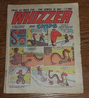 Whizzer and Chips comic 6 February 1971