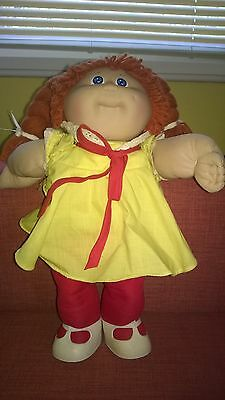 Vintage Cabbage Patch Kids Doll with Original Tag