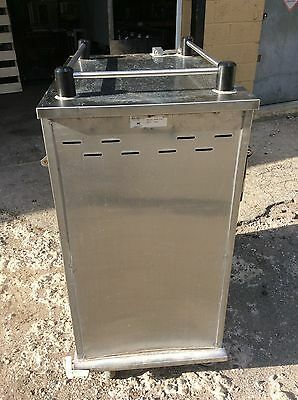 Stainless Food Transport Food Cart, Catering, Storage, Holding, on Wheels