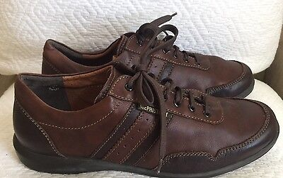 MEPHISTO AIR-JET Sz 10.5. US Men's Brown Leather Lace Up Oxfords Shoes