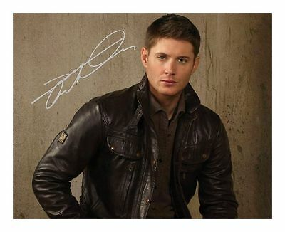 Jensen Ackles Autographed Signed A4 Pp Poster Photo