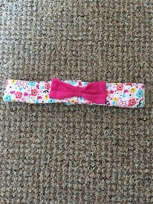Baby Girl Floral Headband Size 9-12 Months