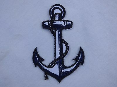 ECUSSON PATCH THERMOCOLLANT aufnaher toppa ANCRE tatouage old school marine rock