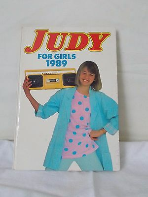Judy For Girls Annual - 1989