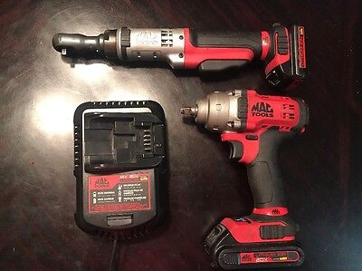 "MAC TOOLS Dewalt BWP138 20V 3/8"" DRIVE IMPACT WRENCH & BRS025 RATCHET & CHARGER"