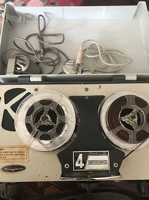 Mayfair Tr-1964 Two Reel Tape Recorder In Good Working Order