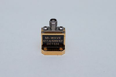 Mi-Wave, End Launch Waveguide to Coax Adapter, WR28 to K connector (female)