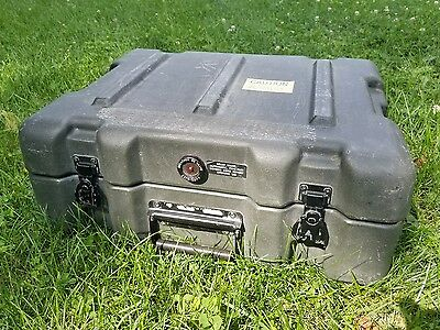 Zero Plastics Hard Shell Industrial Travel Case w/ Breather Valve 4 Clasps