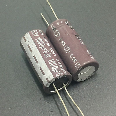 5pcs RUBYCON YXF 1000uf 63v 1000mfd Capacitor  high frequency 105℃  16*31mm