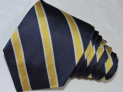 "Brooks Brothers Men's Tie Blue/stripped 3.6/8""  57"" Usa"