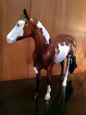 Peter Stone ISH Rio Paint Horse Traditional Model Horse Glossy Breyer