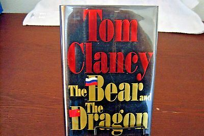 The Bear and the Dragon by Tom Clancy (2000, Hardcover) - SIGNED