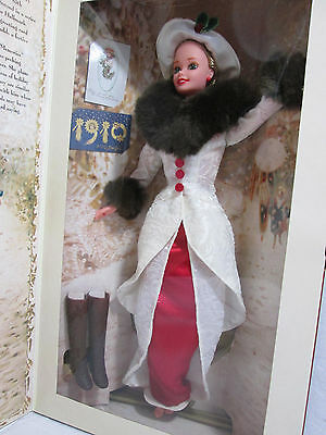 Hallmark Holiday Memories Barbie Doll Special Edition Boots Faux Fur