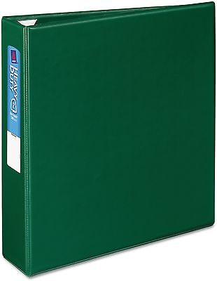 Avery Heavy-Duty Binder With One Touch EZD Rings, 11 X 8 1/2, 2' Capacity, Green