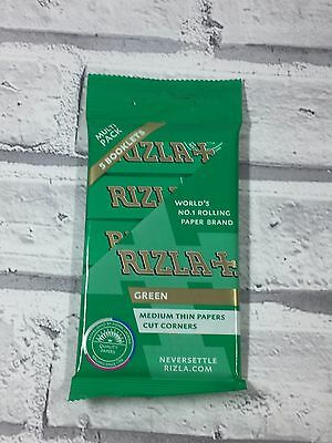 Rizzla Pack Green, Red , Blue  Standard Cigarette Rolling Papers Regular Rizla