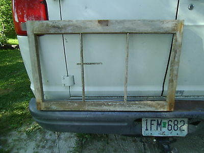 antique barn sash, barn window, picture frame, crafts, dates late 1800s, old pnt