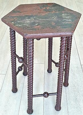 1900'ish Stick & Ball Folk Art plant stand *read text* 6 photos