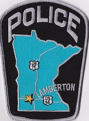 Lamberton Police Patch Minnesota MN NEW!!