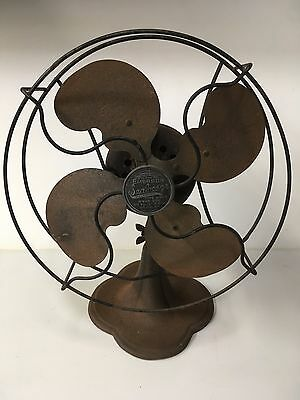 """Decorator Vintage Emerson """"Seabreeze"""" 8"""" Electric Fan - NO CORD - NOT WORKING"""
