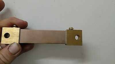 CURRENT  shunt bar 300 amp 100mv DC AMMETER SHUNT  deltec w02-300-100
