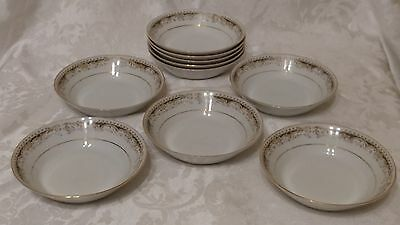 """2-Signature Collection Select Fine China Queen Anne Dessert/fruit Bowl 5 5/8"""" W"""