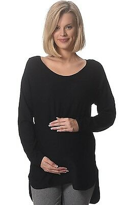 BNWT  Knitted Maternity Jumper - Black - Sizes 8,10,12,14 & 16