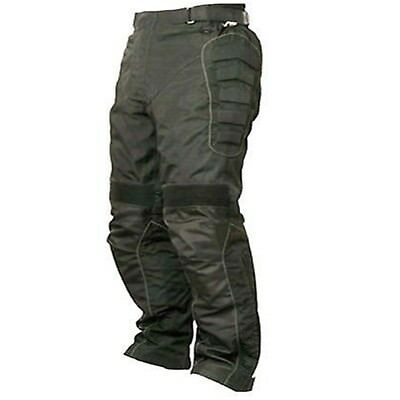 Waterproof Black Motorcycle Cordura Textile Trousers thermal lining Pant