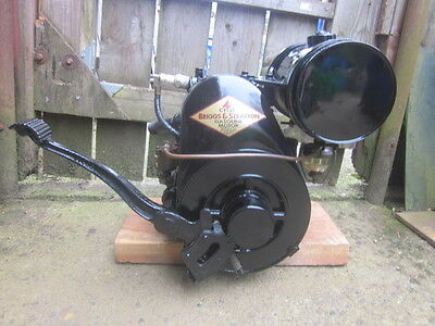 Model H Briggs and Stratton gas engine, Old , Antique