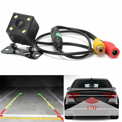 LED Wide Angle Car Rear View Reversing Backup Camera with Night Vision T8O5 US