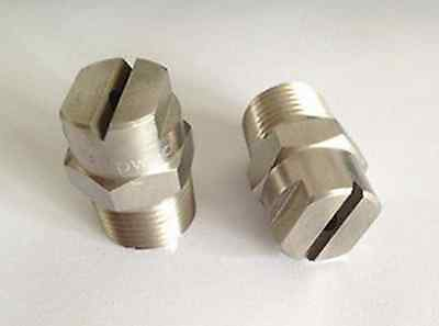 New  Stainless steel   high pressure Sector Cleaning Spray Nozzle