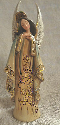 Beautiful Angel With Wings Christmas Ornament- Serene And Lovely-Nwt