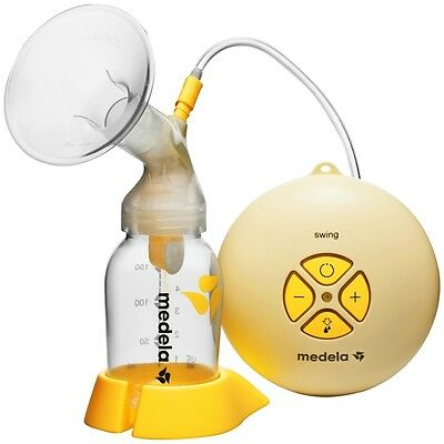 NEW Medela Swing Electric Breast Pump Plus Calma Solitaire Teat