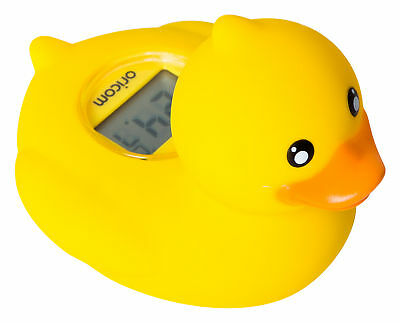 NEW Oricom Digital Bath and Room Thermometer Duck