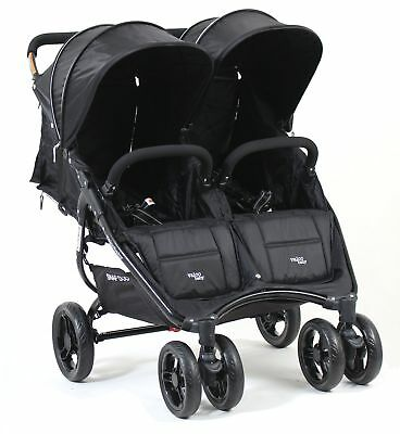 New Valco Snap Duo Double Stroller- Black Beauty