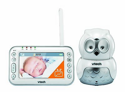 NEW VTech BM4500 Safe & Sound Video and Audio baby monitor with motorised Pan &