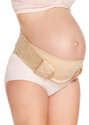NEW Mamaway Ergonomic Maternity Support Belt - Nude - Large
