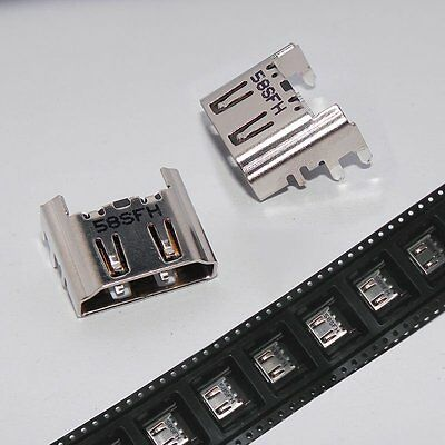 5PCS OEM HDMI Port Socket Interface Connector Replacement For Playstation 4 PS4