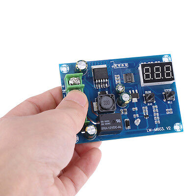 DC Lithium Battery Charge Controller 12V-24V Battery Power Charger Monitor Board